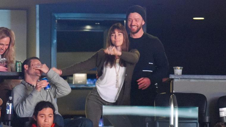 Justin Timberlake and Jessica Bie