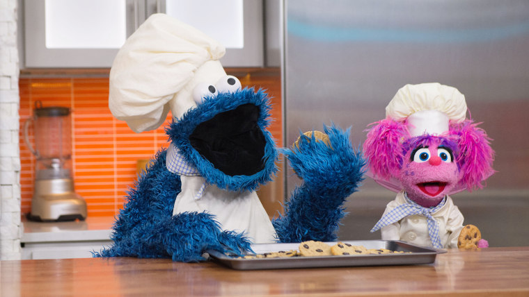 Cookie Monster and Abby Cadabby
