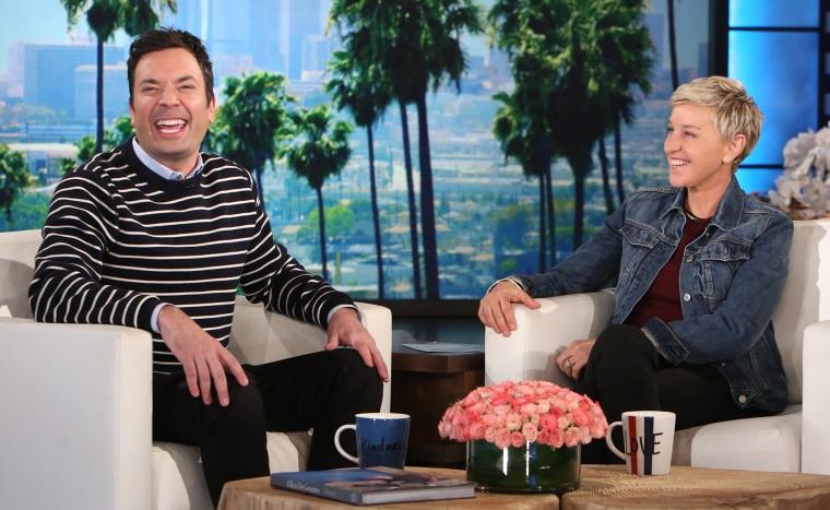 Jimmy Fallon on The Ellen DeGeneres Show