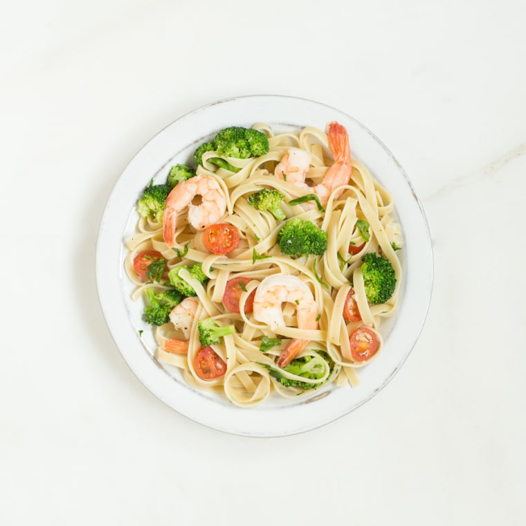 Hoda Plan - Shrimp Broccoli Linguine Dinner