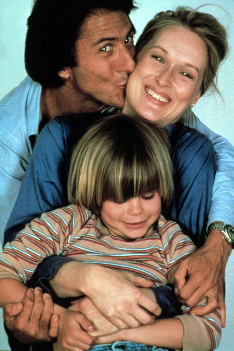 KRAMER VS. KRAMER, Dustin Hoffman, Meryl Streep, Justin Henry, 1979