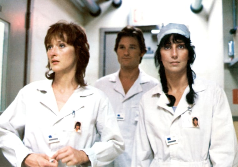 SILKWOOD, Meryl Streep, Kurt Russell, Cher, 1983