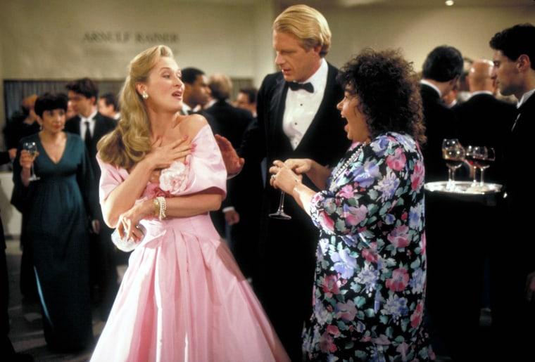 SHE-DEVIL, Meryl Streep, Ed Begley Jr., Roseanne Barr, 1989, (c) Orion/courtesy Everett Collection