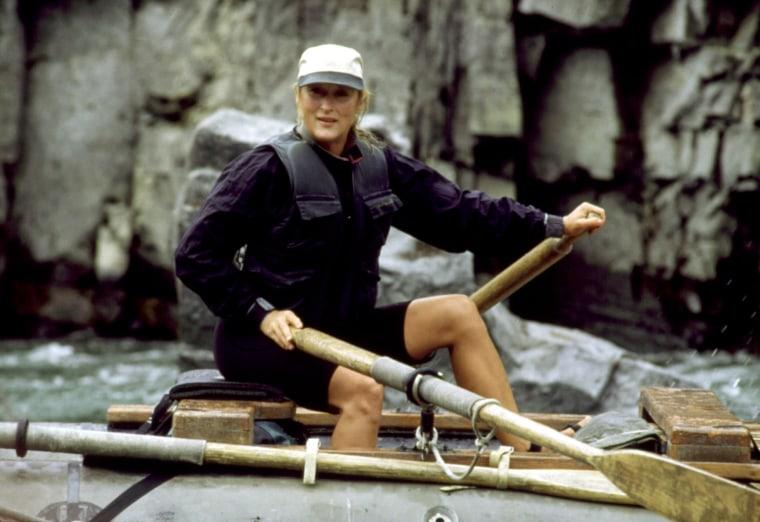 THE RIVER WILD, Meryl Streep, 1994, (c) Universal/courtesy Everett Collection