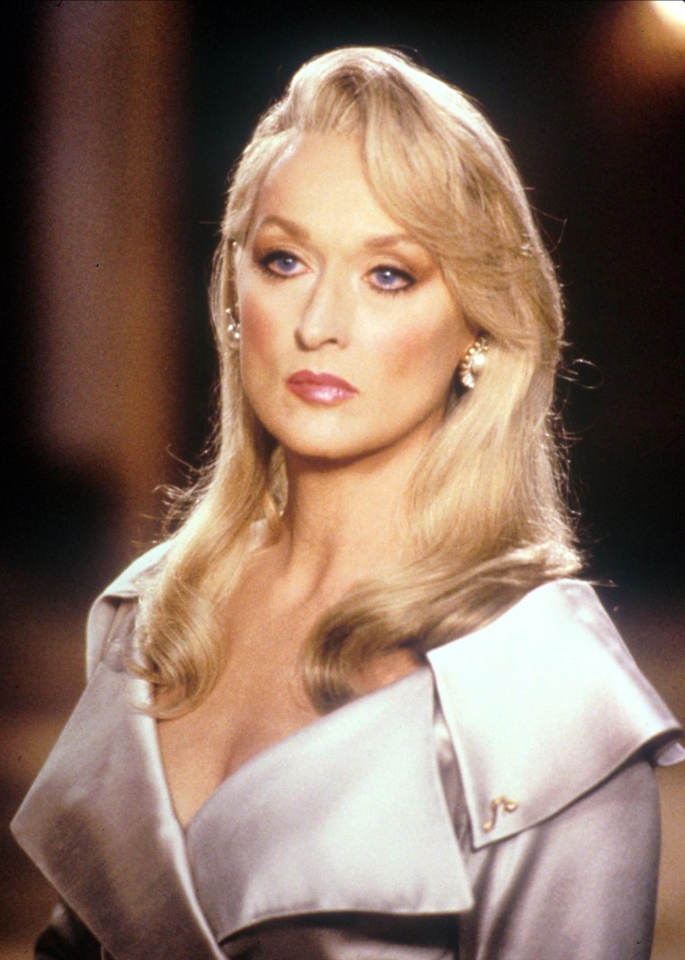 """Meryl Streep in """"Death Becomes Her"""" in 1992"""
