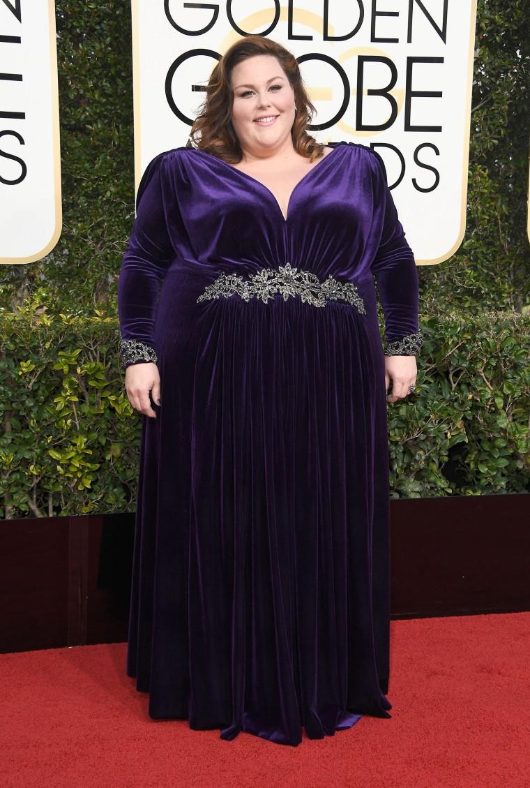 Chrissy Metz Golden Globes 2017