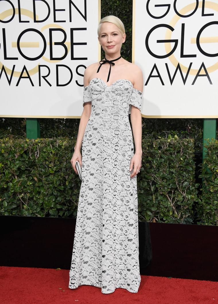 Michelle Williams Golden Globes 2017