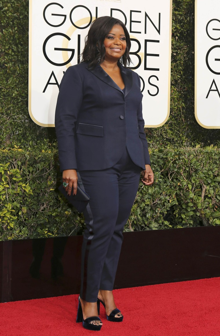 Octavia Spencer Golden Globes 2017