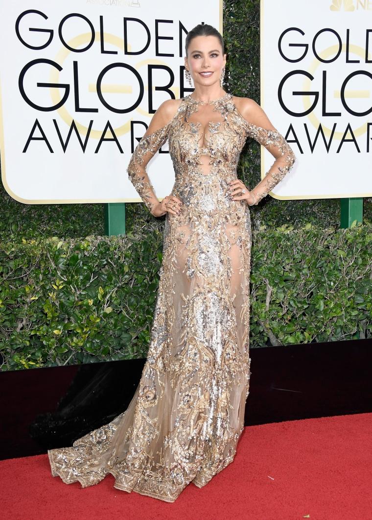 Sofia Vergara Golden Globes 2017