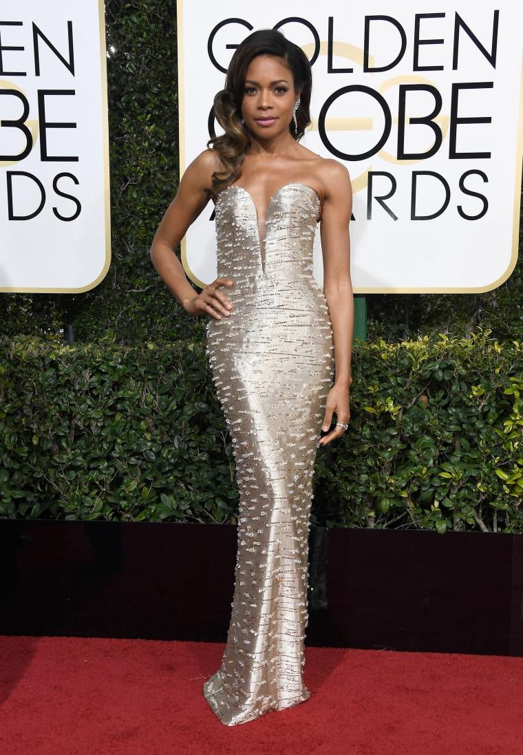 Naomie Harris Golden Globes 2017