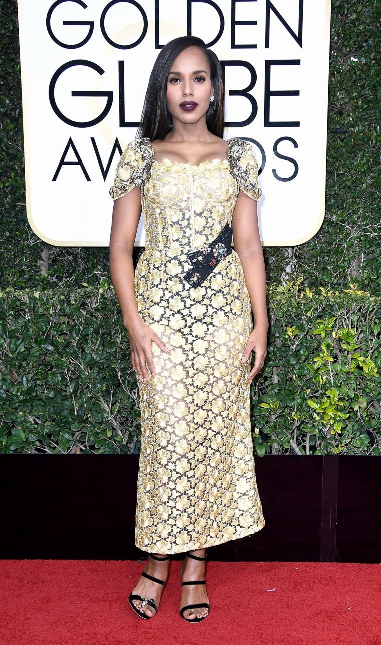 Kerry Washington Golden Globes 2017