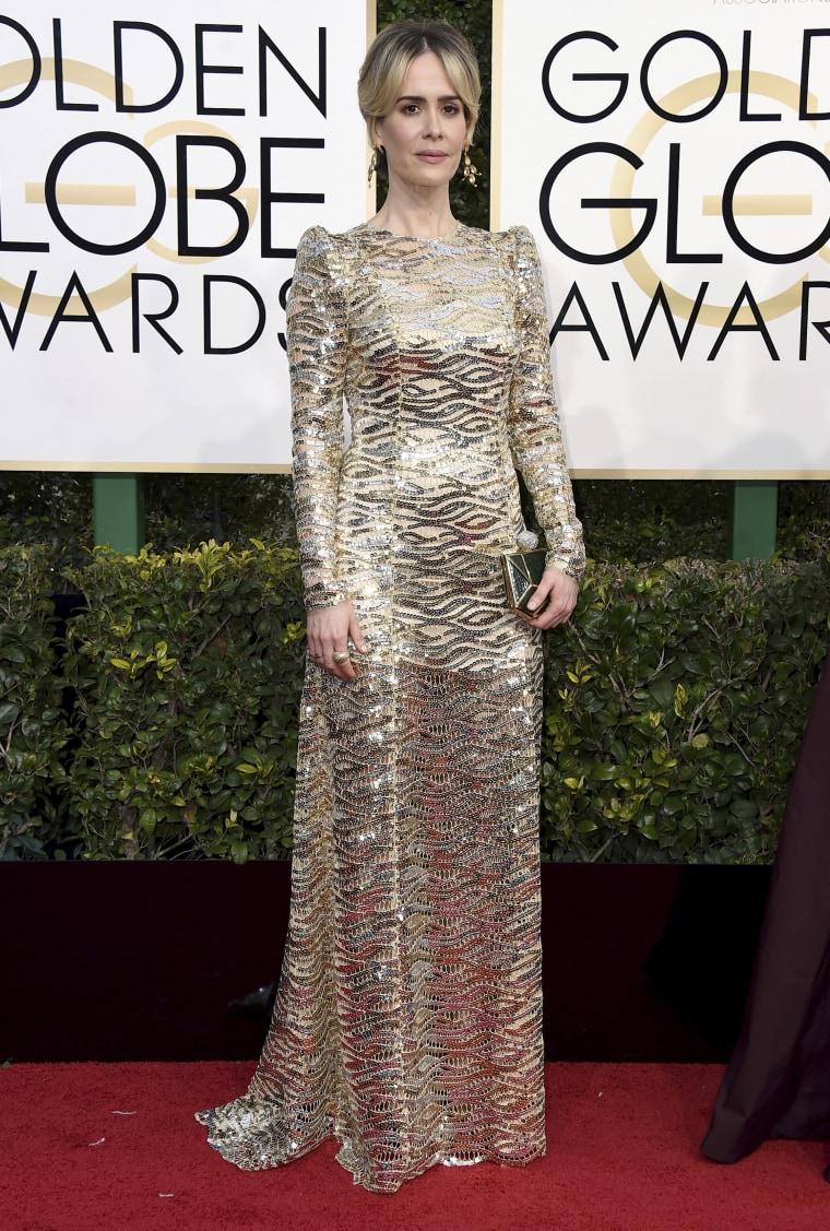 Sarah Paulson Golden Globes 2017