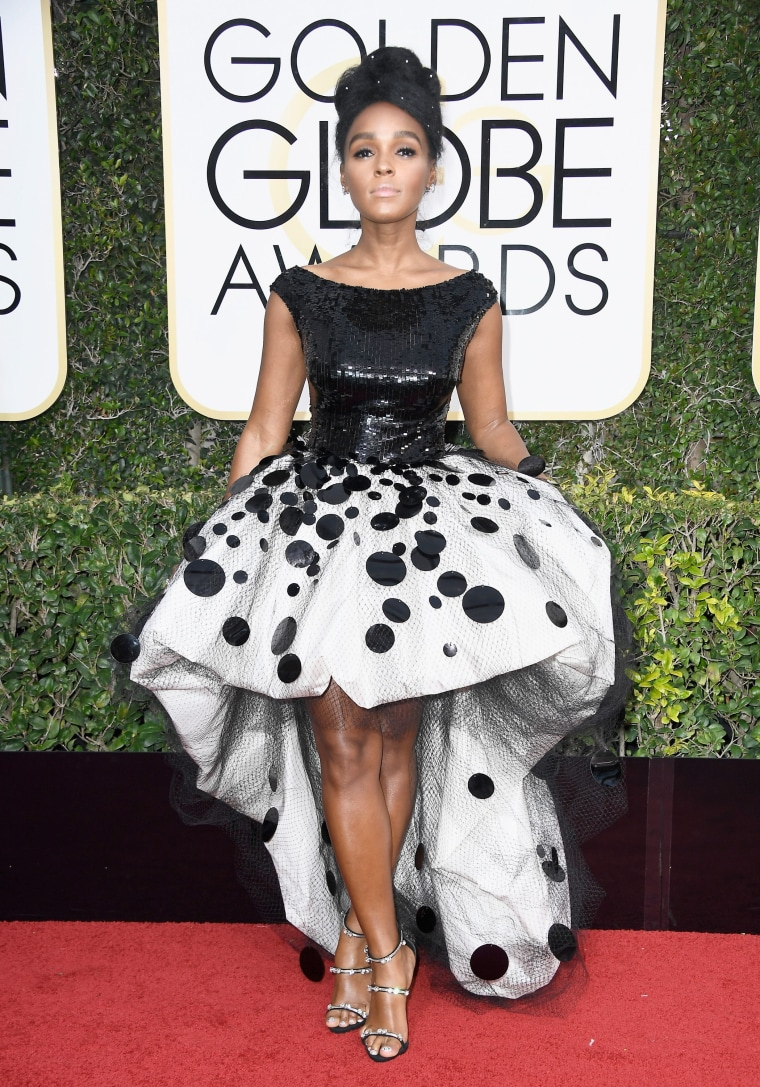 Janelle Monae Golden Globes 2017