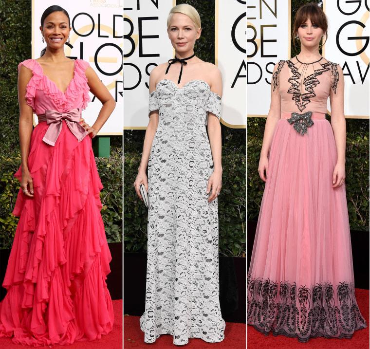 Golden Globes red carpet 2017