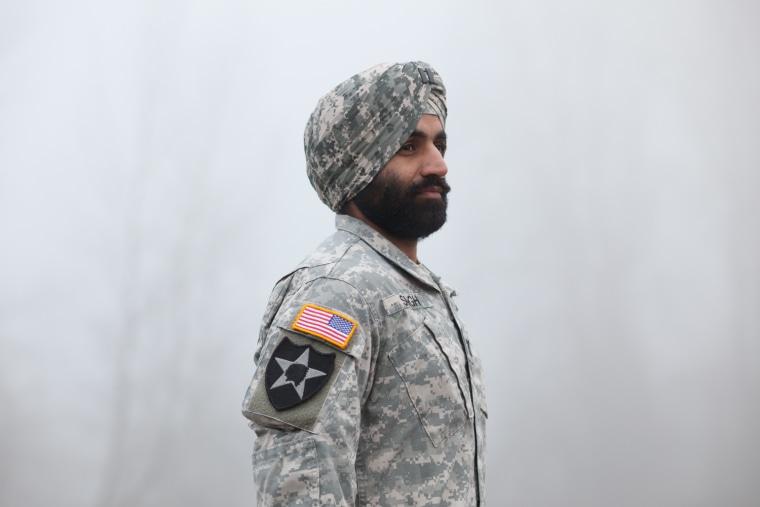 Capt. Simratpal Singh, a West Point graduate, Army Ranger, and Bronze Star recipient.