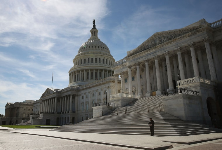 Image: Congressional Majority In Question As Election Nears