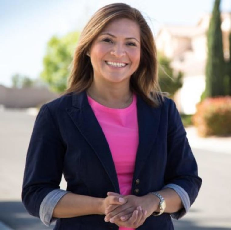 Sandra Jauregui becomes the first Latina elected to the Nevada Assembly.