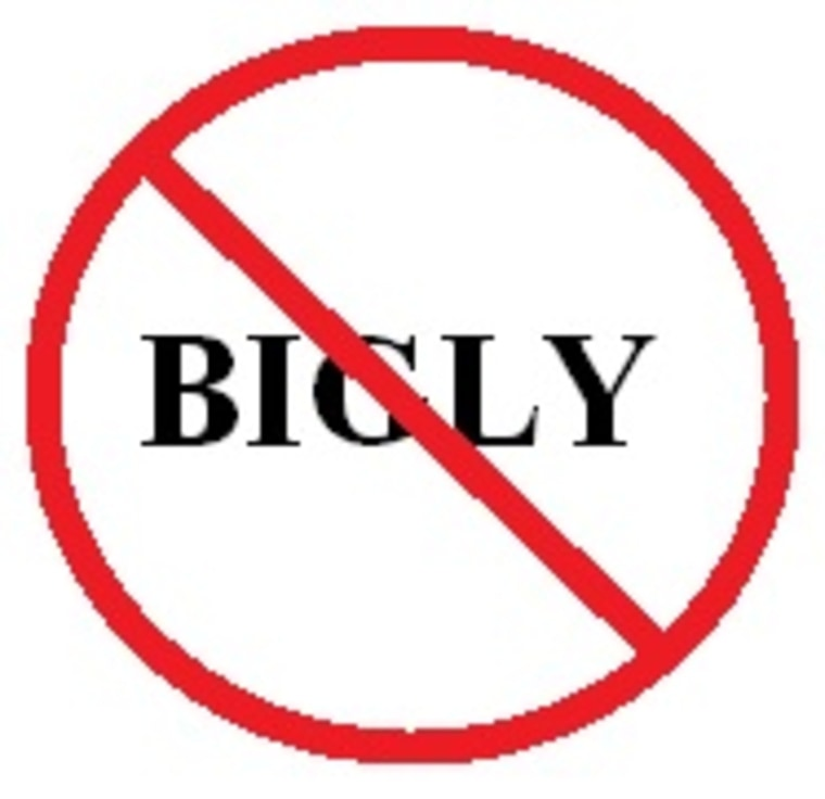 IMAGE: No 'bigly' allowed