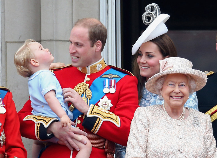 Image: The royal family in 2015