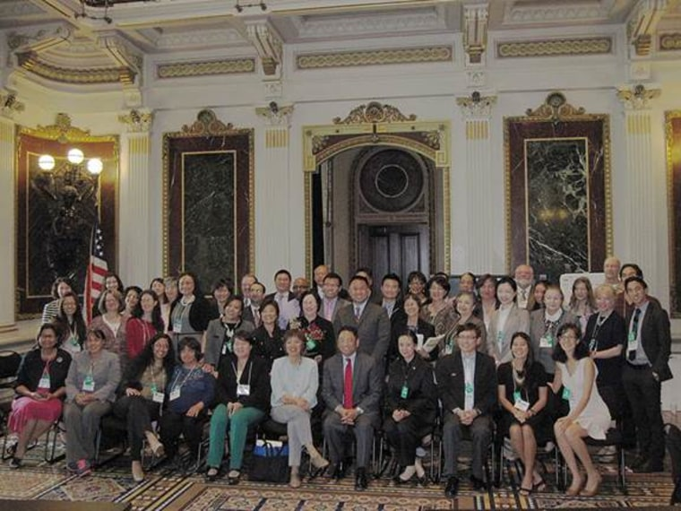 The Asian American Pacific Islander Behavioral Health Forum at the White House in 2014.