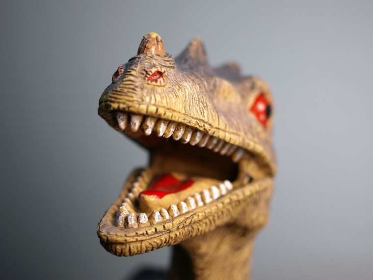 IMAGE: Model of dinosaur