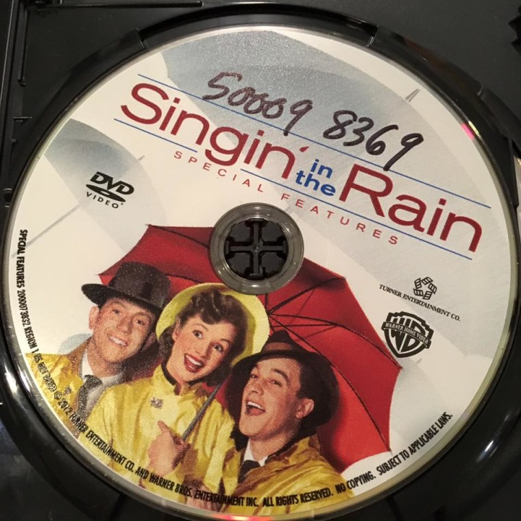 """Frances Kai-Hwa Wang's special New Year's Eve treat -- watching """"Singing in the Rain"""" with her son, Little Brother"""