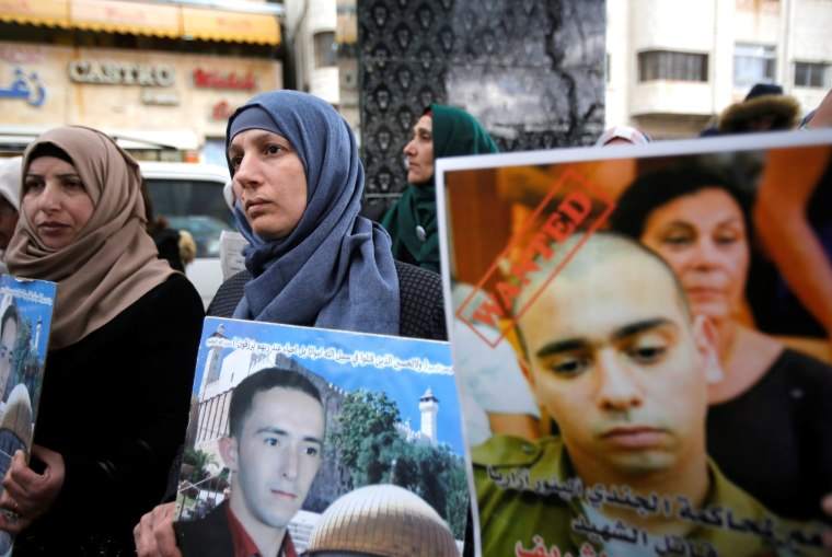Image: The mother of Palestinian assailant Abdel Fattah al-Sharif