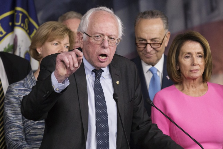 Image: Democratic members of Congress news conference