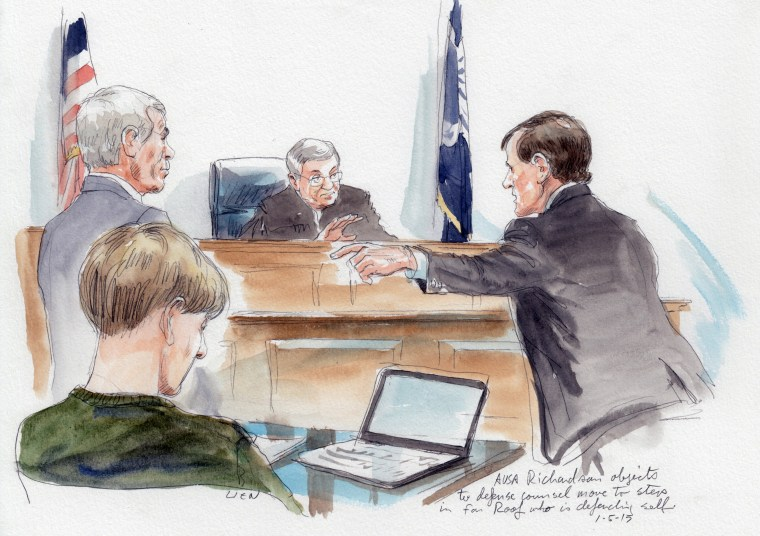 Image: Assistant U.S. District Attorney Richardson objects