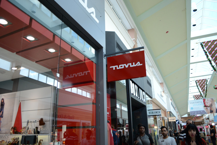 Sign for the new Novus store in Pembroke Lakes Mall in Pembroke Pines, Florida.