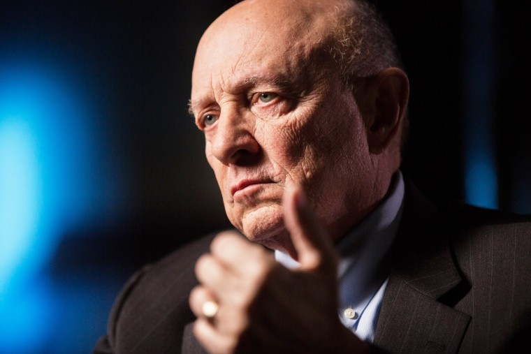Image: Former Director of Central Intelligence James Woolsey in New York, New York on Feb. 5, 2015.