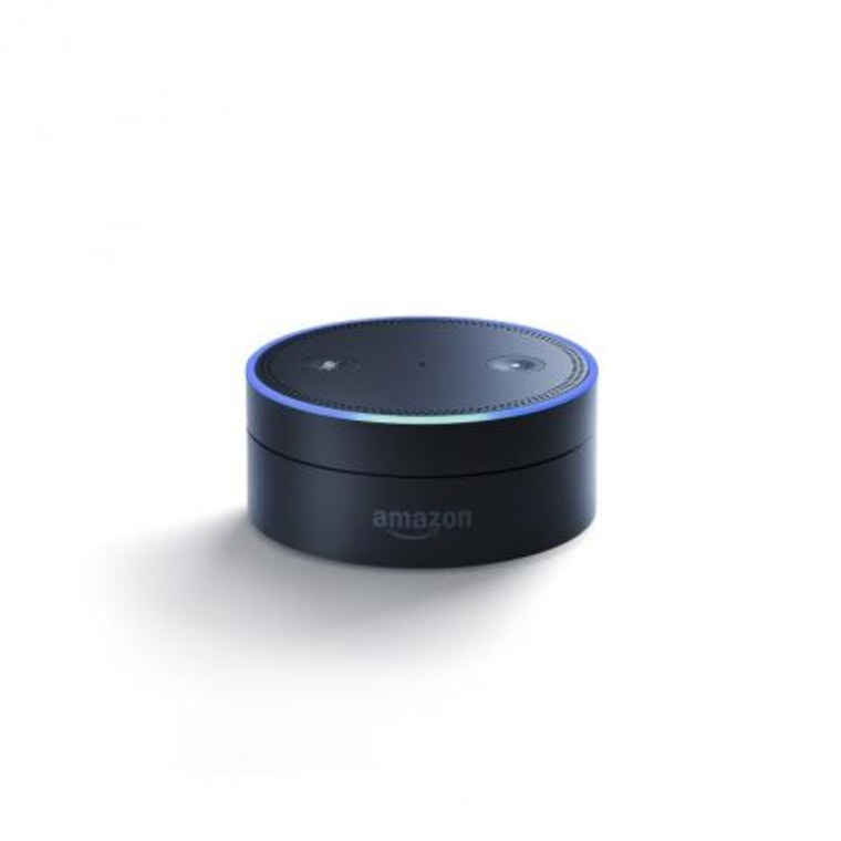Handout image of Amazon's one of two new voice controlled devices Echo Dot