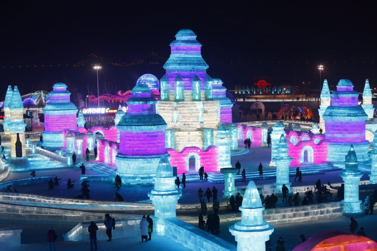 Image: The 33rd Harbin International Ice and Snow Festival