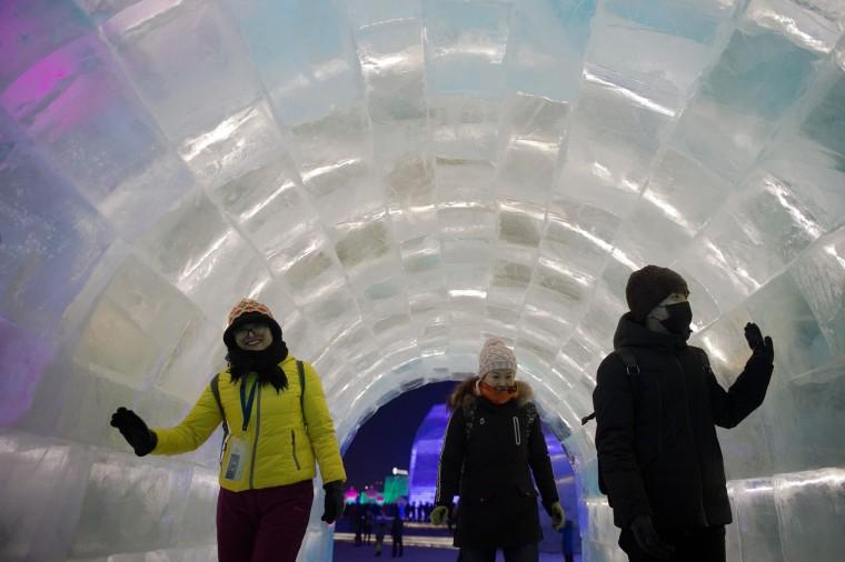 Image: CHINA-ICE-FESTIVAL