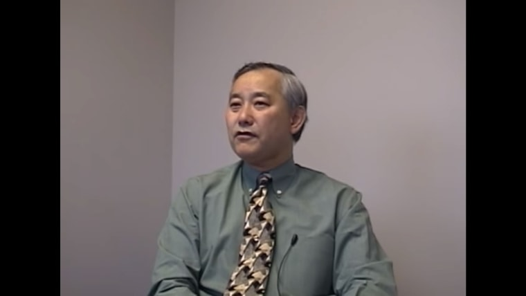 """Alan """"Al"""" Sugiyama during an interview with the University of Washington's Seattle Civil Rights & Labor History Project"""