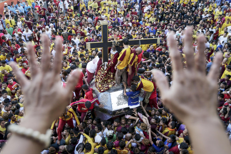 Philippine authorities on alert for possible terror attacks during Black Nazarene Feast Day