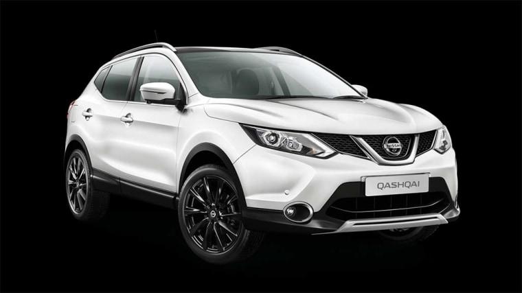 The European version of the Nissan QashqAI.