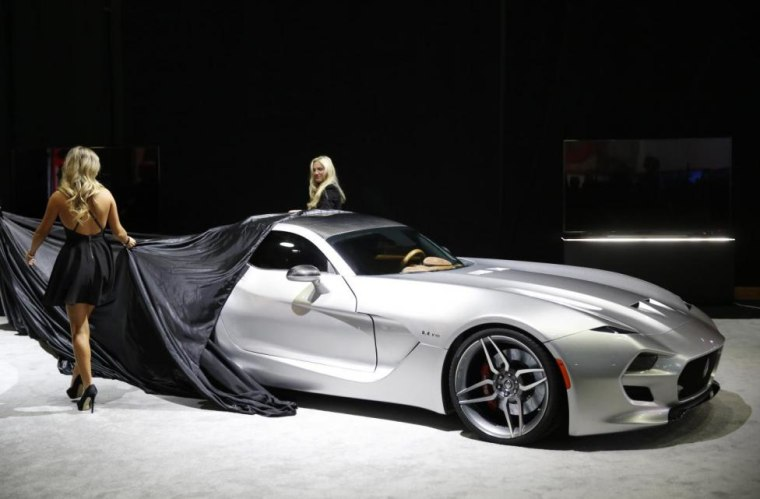 Science Fiction And Reality Converge At The Detroit Auto Show - Detroit car show