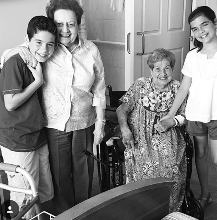5 siblings live together at the same nursing home