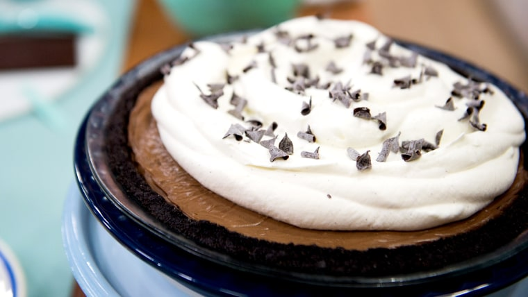 Classic Diner-Style Chocolate Pie