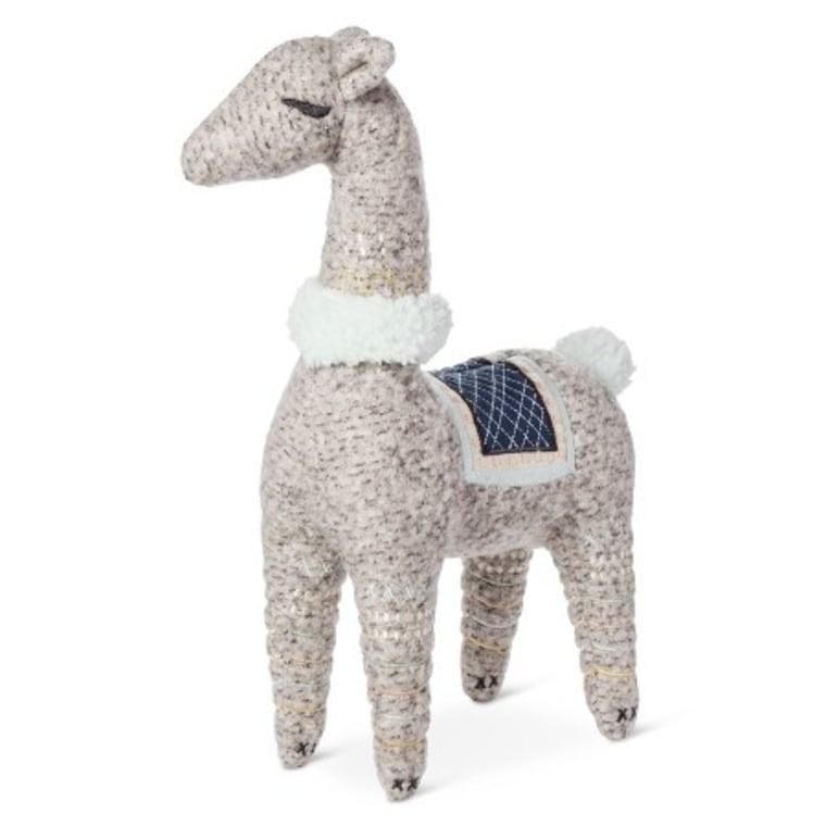 Nate Berkus Llama Plush