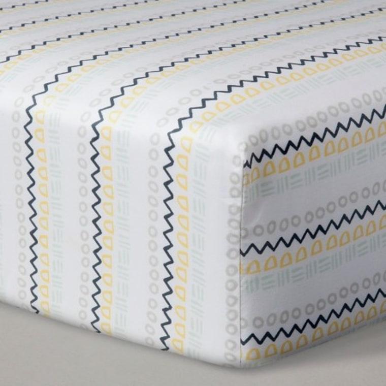 Nate Berkus crib sheet