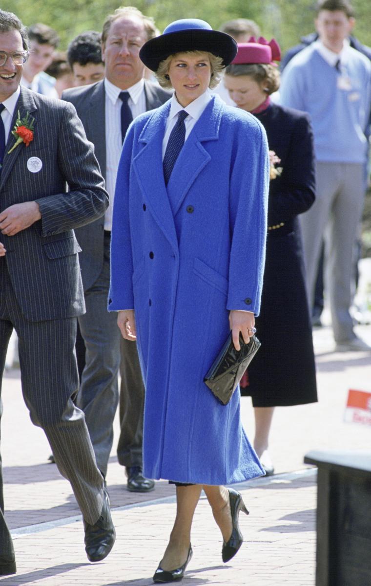 Princess Diana In Glasgow