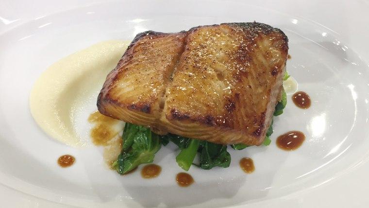 Black Cod Marinated with Honey