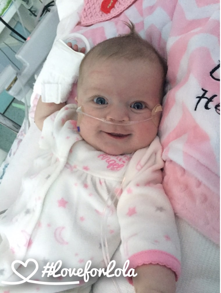 Baby girl with congenital heart defect is soothed by watching Dallas Cowboys