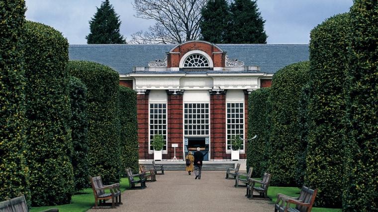 Orangery of Kensington Palace, London, England