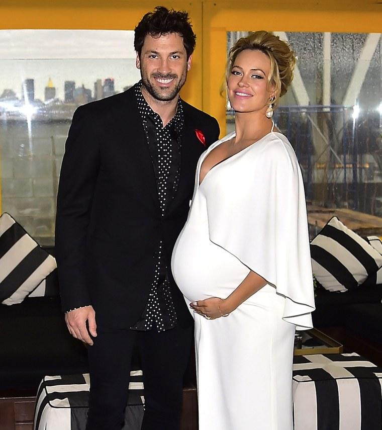 Maksim Chmerkovskiy and Peta Murgatroyd Baby Shower
