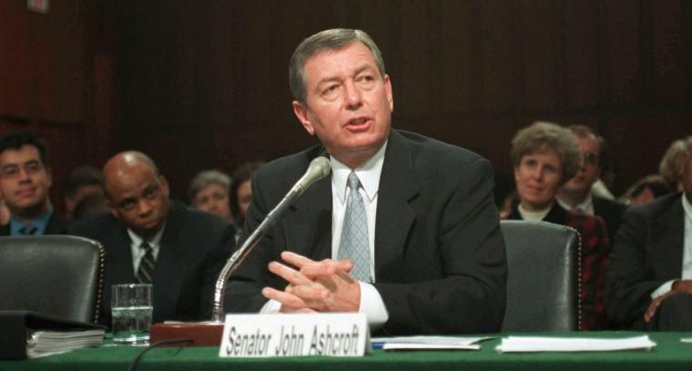ASHCROFT--John Ashcroft, nominee for U.S. Attorney General,
