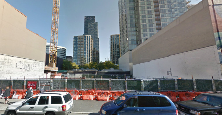 This still from Google Streetview shows the site of the Potala Tower in Seattle, Washington, one of the EB-5 projects that Dargey owned, in September 2016. The project has since been taken over by a different development company and will be rebranded.