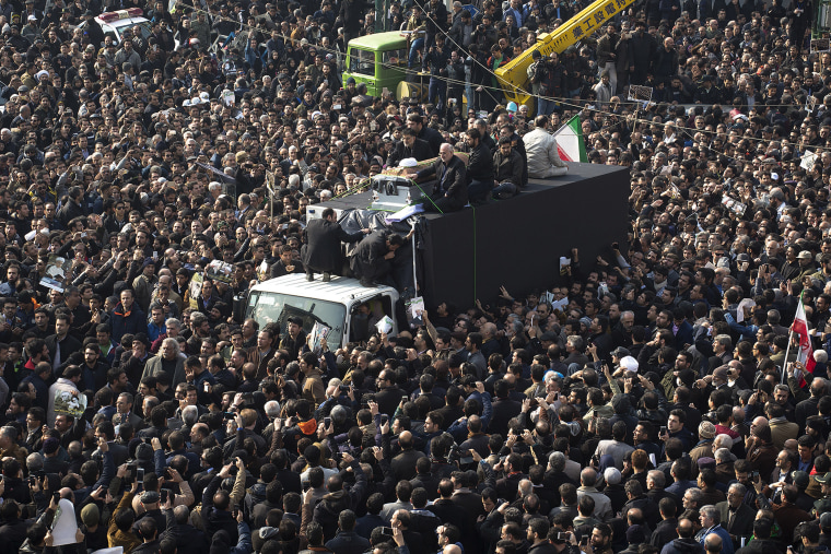 Image: Iran Pays Its Respects to Former President Rafsanjani